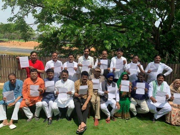 Madhyapradesh MLA resign congress party